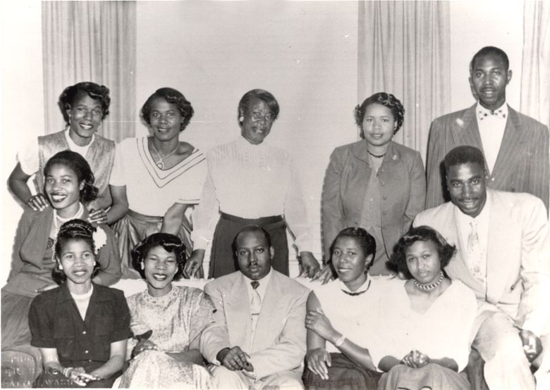 """This picutre is from from a family archive of photos and documents tracing the evolution of Frank Green's family in the Central District, which is brought to light in """"Elegant Utility"""" at the Northwest African American Museum. (Inye Wokoma)"""