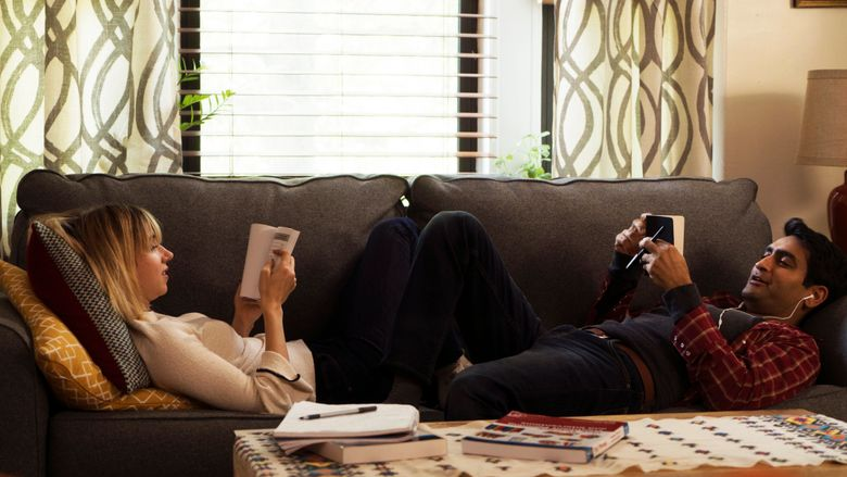 """Zoe Kazan and Kumail Nanjiani portray the lovers challenged by serious illness, and cultural and religious challenges in """"The Big Sick,"""" the opening-night film for this year's Seattle International Film Festival.  (Photo by Nicole Rivelli)"""