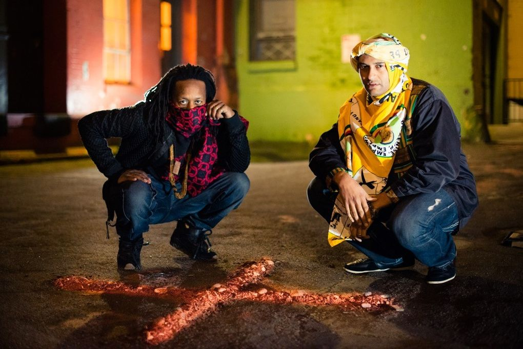 Tendai Maraire (left), of Shabazz Palaces and Chimurenga Renaissance, says he has high hopes for the Paul Allen-funded Upstream music festival. (Courtesy Upstream)