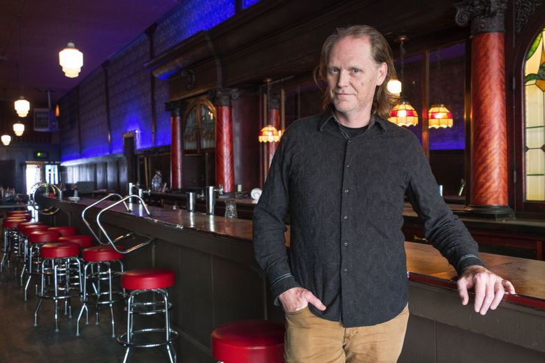 Michael Manahan and another partner have acquired the old Double Header, which they claim is the country's oldest gay bar. They are refurbishing it and will re-open as the Nightjar. (Dean Rutz/The Seattle Times)