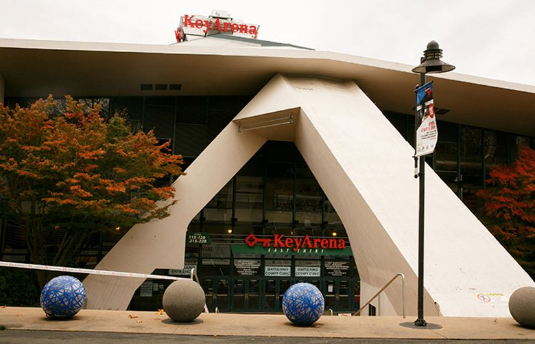 KeyArena in Seattle is photographed Thursday, October 27, 2016.  LO