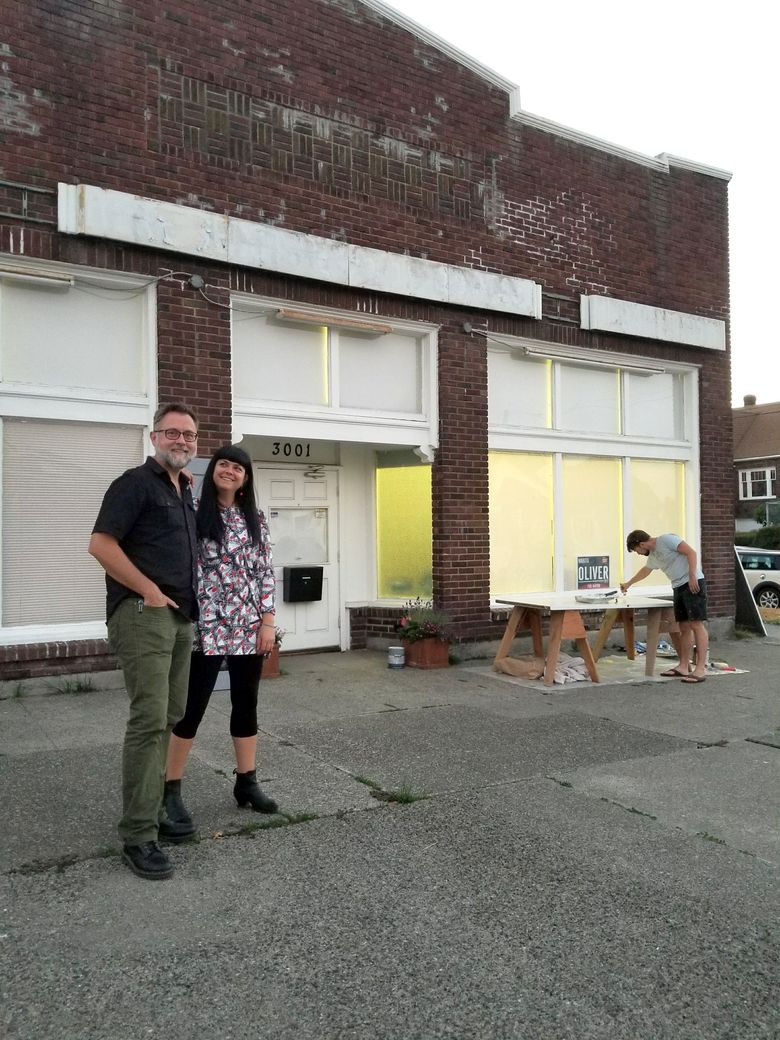 Demi Raven and Janet Galore own The Grocery, a former grocery store on the corner of 21st Avenue South and Stevens Street that they are renovating into an arts space.  (The Grocery)