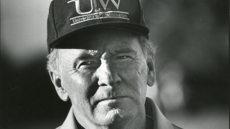 Former UW coach Don James. (Mark Harrison / The Seattle Times)