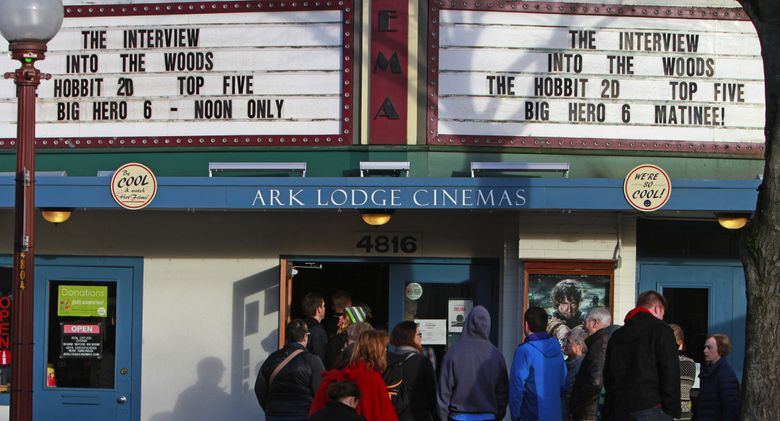 Ark Lodge Cinemas in Columbia City is taking extra precautions to try and keep patrons safe during this coronavirus outbreak.  (Ken Lambert / The Seattle Times, 2014)