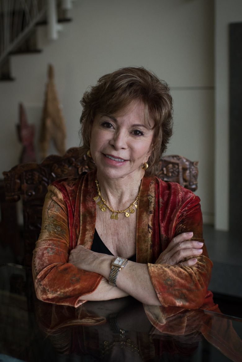 """Isabel Allende, author of nearly two dozen books including """"The House of the Spirits"""" and her most recent, """"In the Midst of Winter."""""""