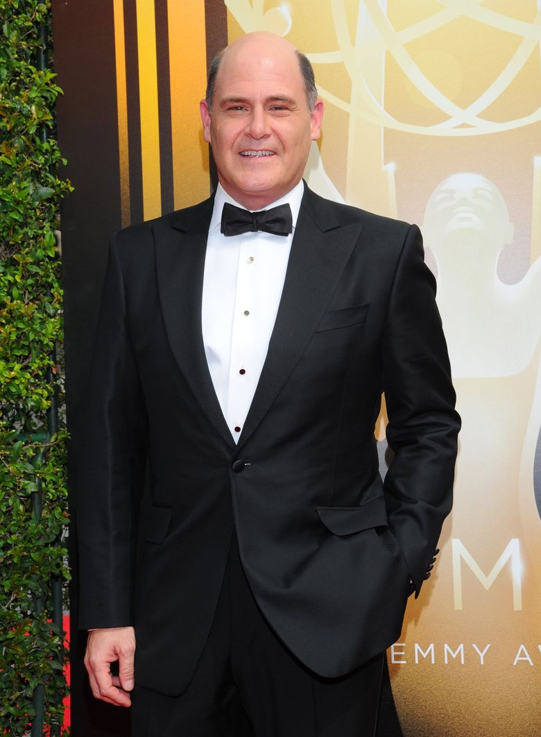 Matthew Weiner arrives at the Television Academy's Creative Arts Emmy Awards at Microsoft Theater on Sept. 12, 2015, in Los Angeles. (Vince Bucci/Invision/AP)