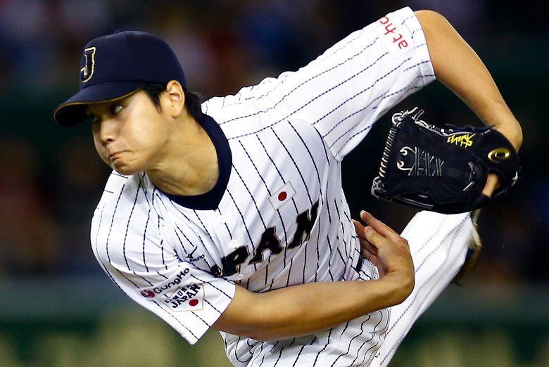 Japananese two-way star Shohei Ohtani. (AP Photo/Toru Takahashi, File)