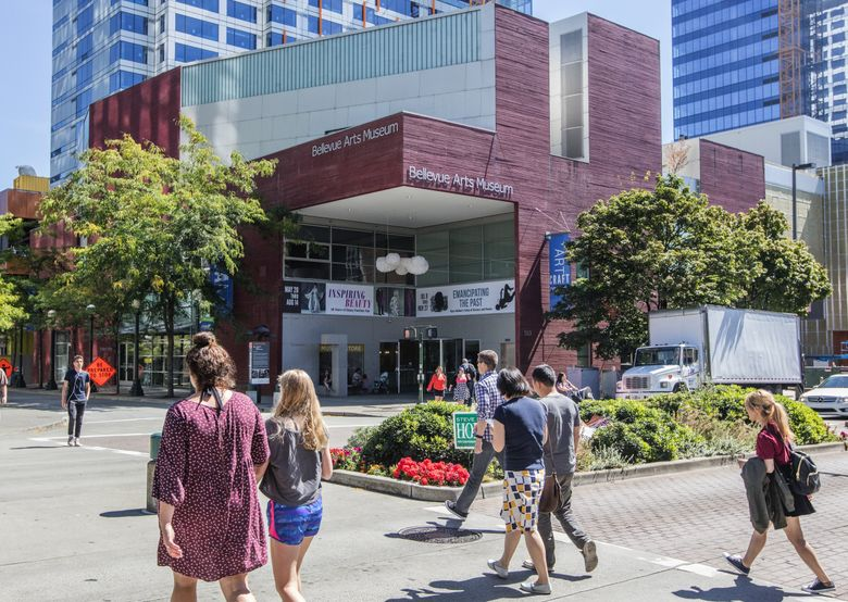 The Bellevue Arts Museum offers exhibits and activities for all ages. (Steve Ringman/The Seattle Times)