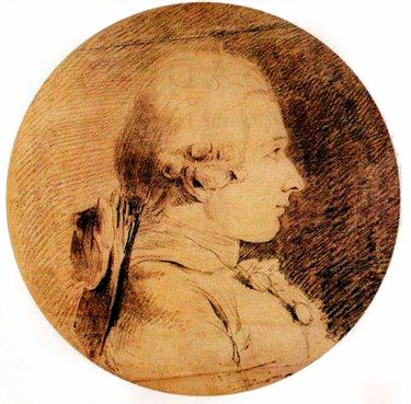 """An undated handout photo of a portrait of the Marquis de Sade. France's National Library is negotiating to buy the manuscript of """"The 120 Days of Sodom,"""" Sade's tale of rape, murder and torture, which Sade believed was lost in the storming of the Bastille. (Handout via The New York Times) — NO SALES; FOR EDITORIAL USE ONLY WITH STORY SLUGGED BOOK-SADE. ALL OTHER USE PROHIBITED. (HANDOUT/NYT)"""