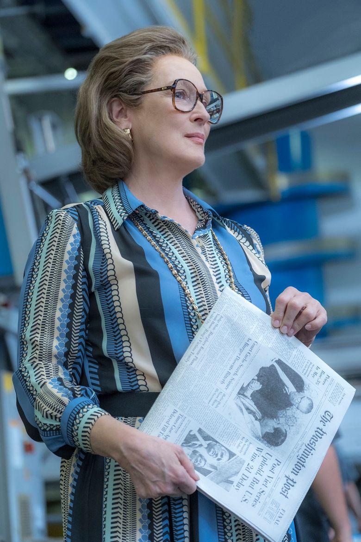 "Meryl Streep stars as Kay Graham in ""The Post."" (Niko Tavernise)"