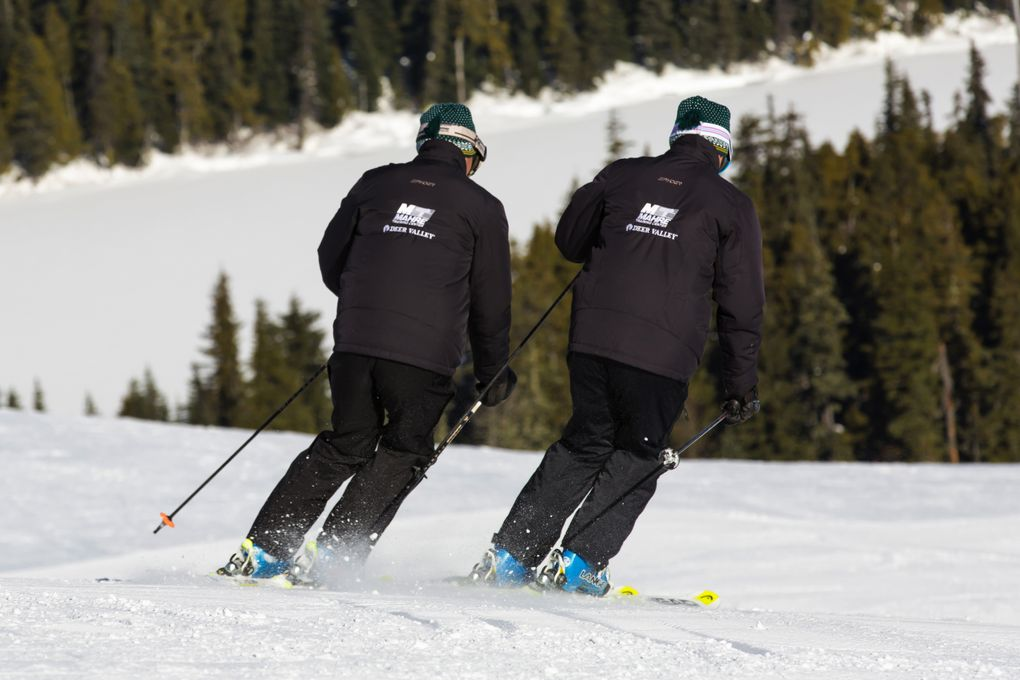 Phil Mahre, left, and his twin brother Steve keep active, running a ski school, racing cars working on houses and spending time with their grandkids. (Photo by Shannon Mahre of Mahre Media)