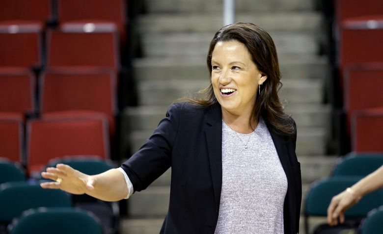 Storm CEO & GM Alisha Valavanis is the head of the Force 10 Sports Management team that oversees operation of the Storm and has helped increase the reach of women's sports in Seattle. (Elaine Thompson/AP)