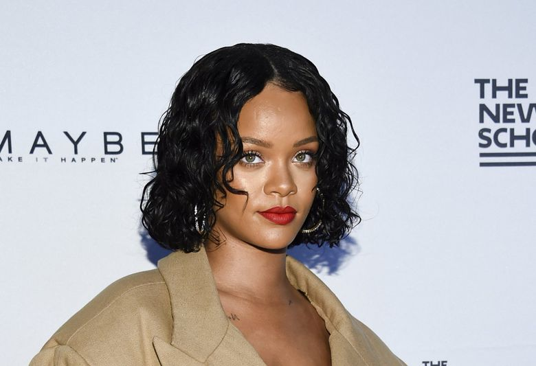 Honoree Rihanna attends the 69th Annual Parsons Benefit at Pier Sixty on Monday, May 22, 2017, in New York. (Evan Agostini / Evan Agostini/Invision/AP)