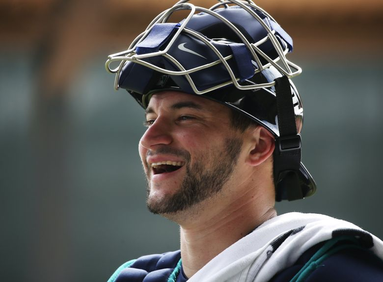 The Mariners are working on a deal to send Mike Zunino and outfielder Guillermo Heredia to Tampa in exchange for outfielder Mallex Smith. (Ken Lambert / The Seattle Times)