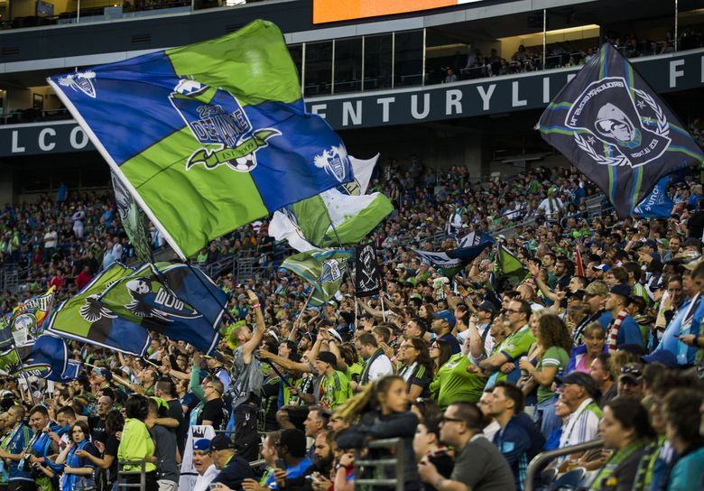 The Sounders rode their CenturyLink Field wave of fans to league record crowds and stellar home win totals most of their first nine seasons, but have largely given that away so far this year. (Kjell Redal/The Seattle Times)