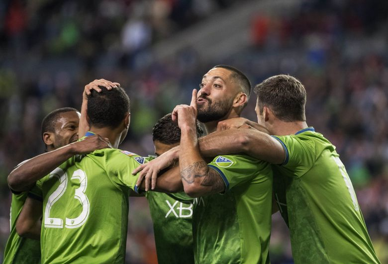 Clint Dempsey, slowed by injury and time and limited to a lone goal this season, on Wednesday announced his retirement at age 35. (Dean Rutz/Seattle Times)