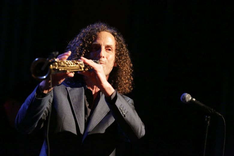 Kenny G, a University of Washington and Franklin High School graduate, plays at Dimitriou's Jazz Alley. (ERIKA SCHULTZ / THE SEATTLE TIMES)