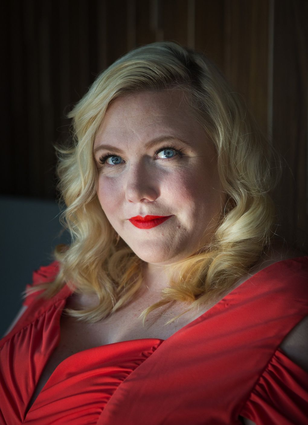 Author Lindy West (Lindsey Wasson / The Seattle Times)