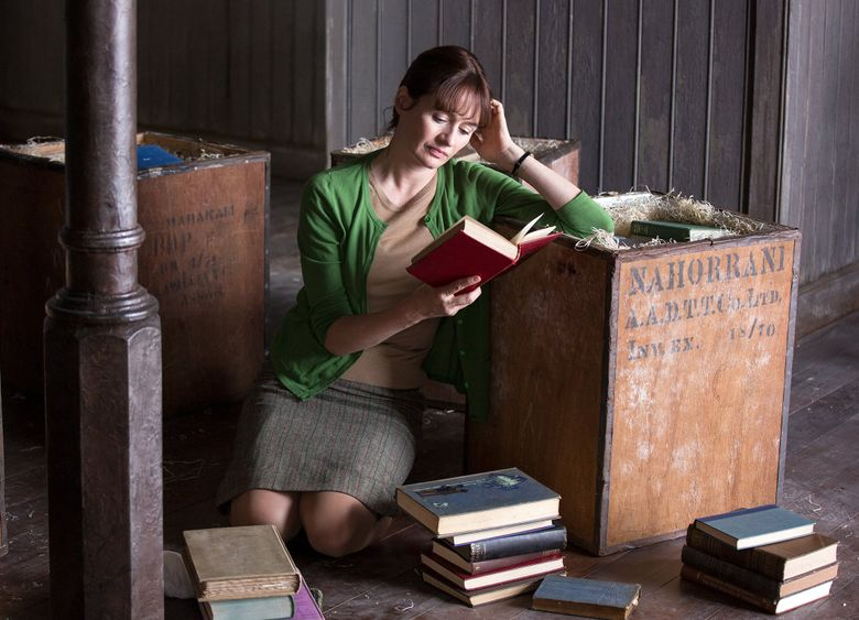 """Emily Mortimer stars in """"The Bookshop,"""" which will screen as SIFF's opening-night film Thursday  at McCaw Hall. (Courtesy of SIFF)"""