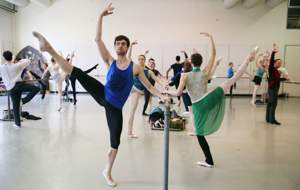 """Steven Loch, with Pacific Northwest Ballet, says of talking about his experiences with OCD: """"I'm not afraid of opening up about this subject."""" (Erika Schultz / The Seattle Times)"""