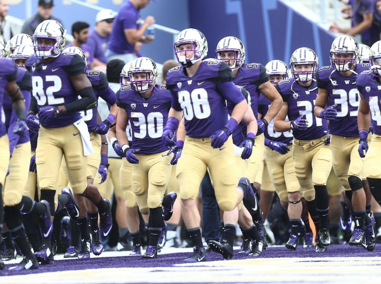 The Huskies will wear Nike next season, then switch to adidas in July 2019.  (Lindsey Wasson/The Seattle Times)