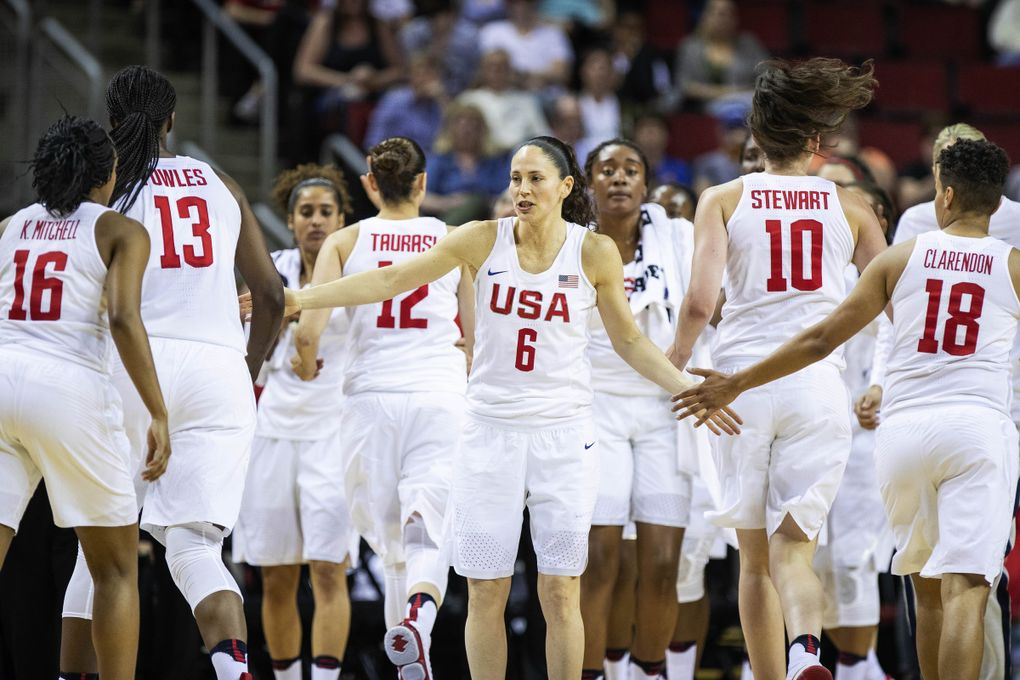 Seattle Storm and USA Basketball star Sue Bird came out publicly last year. (Dean Rutz / The Seattle Times, file)