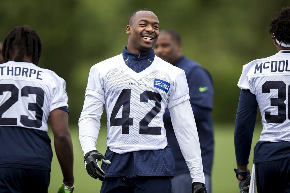 Seahawks defensive back Delano Hill.  (Bettina Hansen / The Seattle Times)