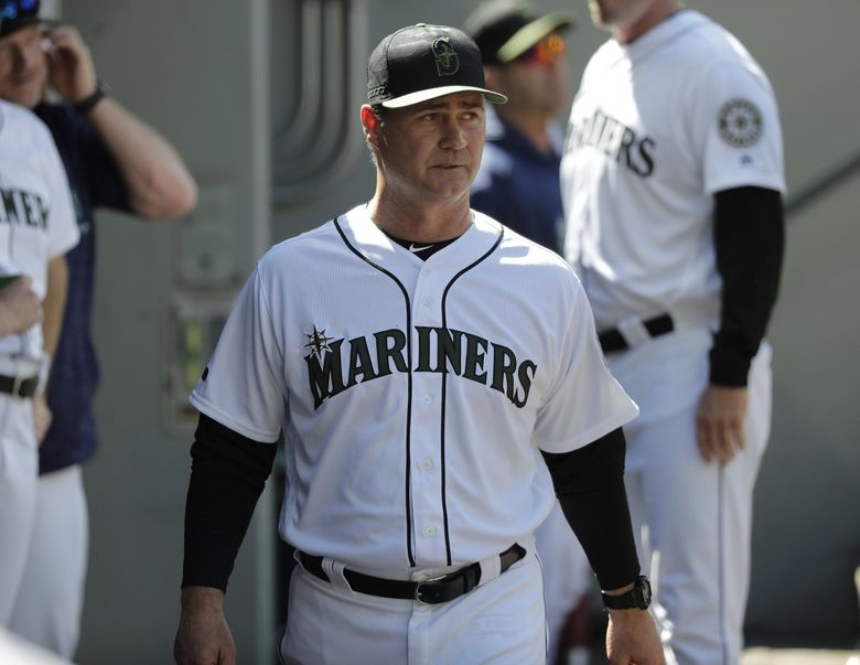 Mariners manager Scott Servais. (AP Photo/Ted S. Warren)