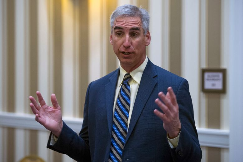 Oliver Luck is the commissioner of the new  XFL. (AP Photo/Cliff Owen, File)