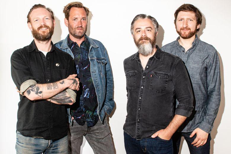 Veteran Seattle rockers Minus the Bear are disbanding after one final tour. (Chona Kasinger)