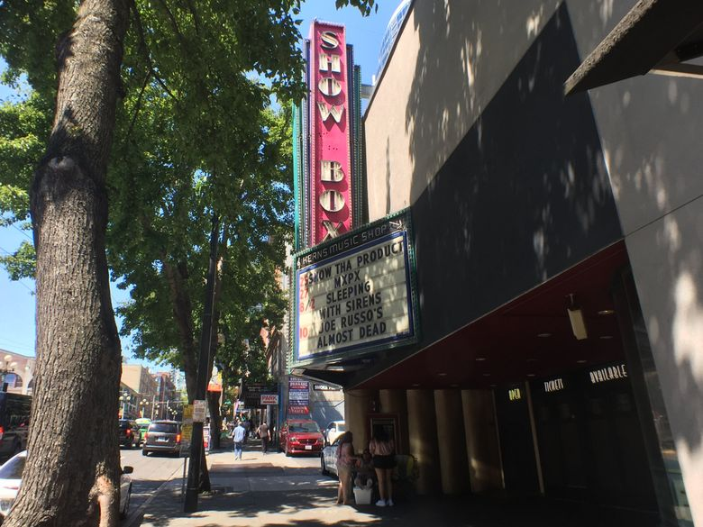 The Showbox in Seattle. (Steve Ringman / The Seattle Times)