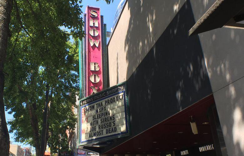 The Showbox. (Steve Ringman / The Seattle Times)