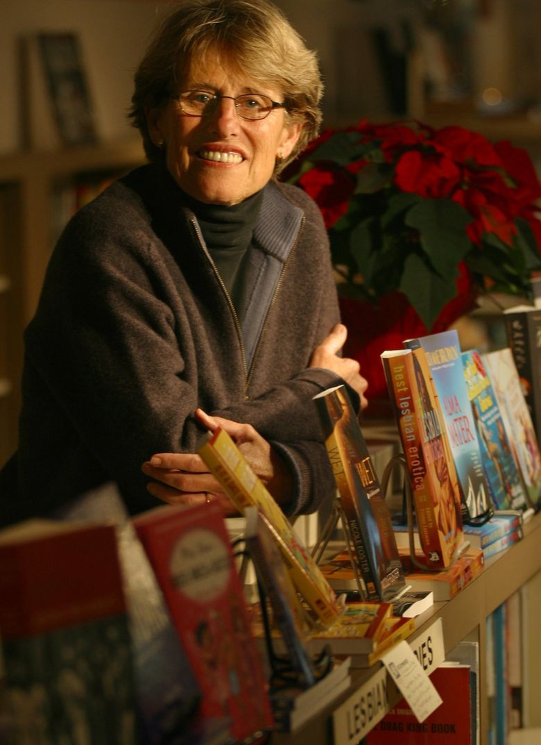 Barbara Bailey, who co-owned Bailey/Coy Books on Capitol Hill, died last weekend. (Tom Reese / The Seattle Times)