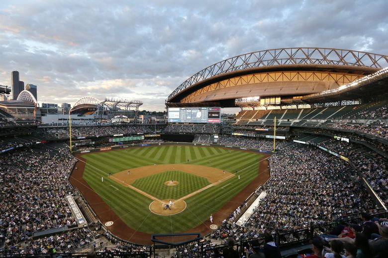 Safeco Field. (Elaine Thompson / The Associated Press)