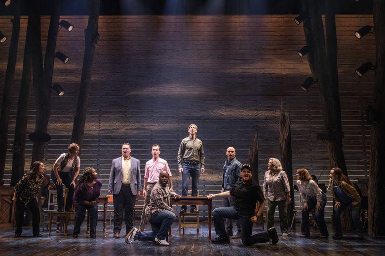 """The cast of """"Come From Away.""""  (Matt Murphy)"""