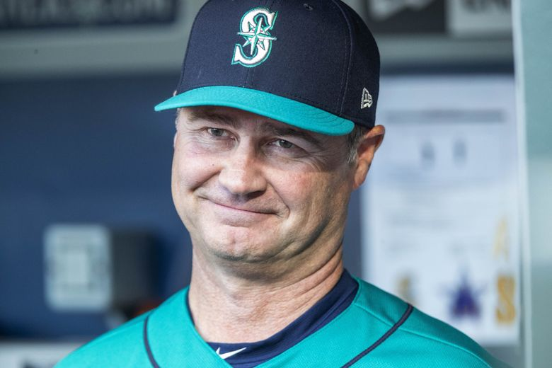 Mariners manager Scott Servais was given a multi-year contract extension by the club Friday.  The Seattle Mariners opened at home following the All-Star break with a game against the Chicago White Sox Friday, July 20, 2018 at Safeco Field in Seattle, WA. 207034 (Dean Rutz / The Seattle Times)