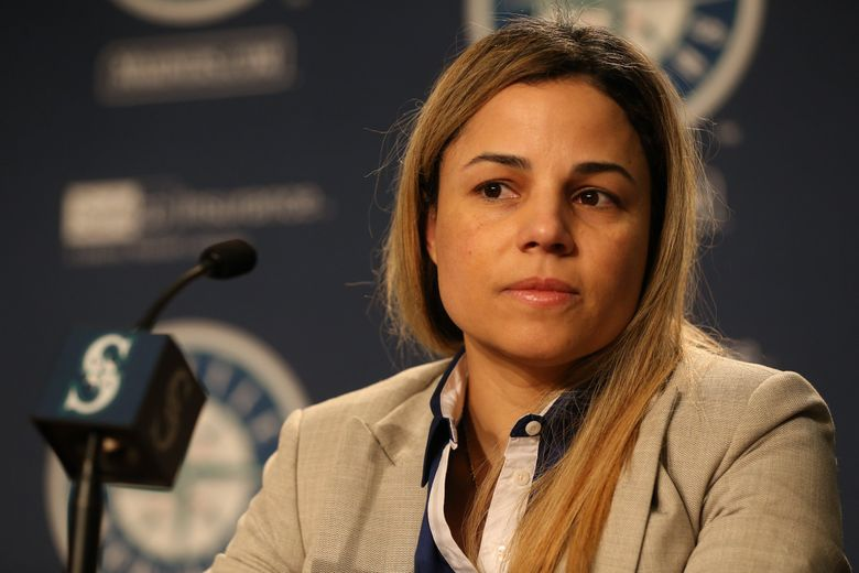 Lorena Martin is seeking to proceed with a lawsuit against the Mariners asking for the remaining $600,000 on her three-year, $900,000 contract plus additional damages for gender and racial discrimination she claims she suffered. A judge ruled last month that her contract calls for all employment disputes to be resolved through private arbitration and not civil litigation. (Ken Lambert / The Seattle Times, file)