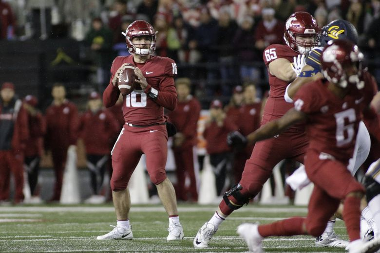Washington State quarterback Gardner Minshew will need to have a big game for WSU to prevail over Arizona. (Young Kwak / The Associated Press)