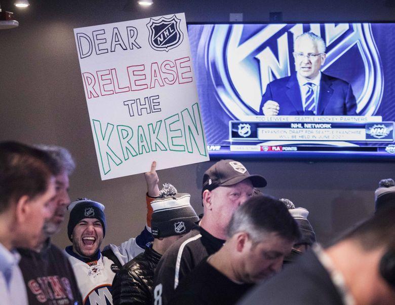 """""""Release the Kraken"""" has taken on new meaning in recent weeks.  (Steve Ringman / The Seattle Times)"""