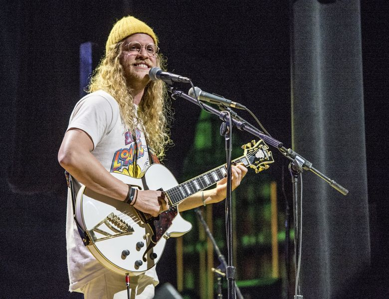 Allen Stone, performing in Los Angeles in 2017, comes to the Neptune Theatre on Dec. 16 and 17. (Amy Harris / Invision / AP)