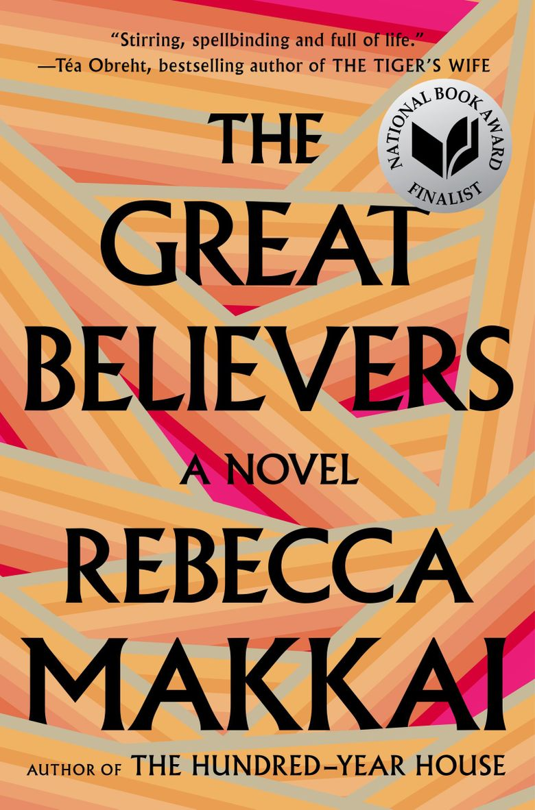 """""""The Great Believers"""" by Rebecca Makkai  (Penguin Random House) was the winner of the 2019 Andrew Carnegie Medal for Excellence in Fiction, presented by the American Library Association."""