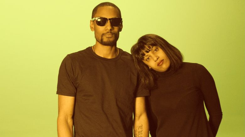"""Siblings Cedric and Eva Walker, of The Black Tones, look to build on their momentum with the debut album """"Cobain & Cornbread."""" (Danny Denial)"""