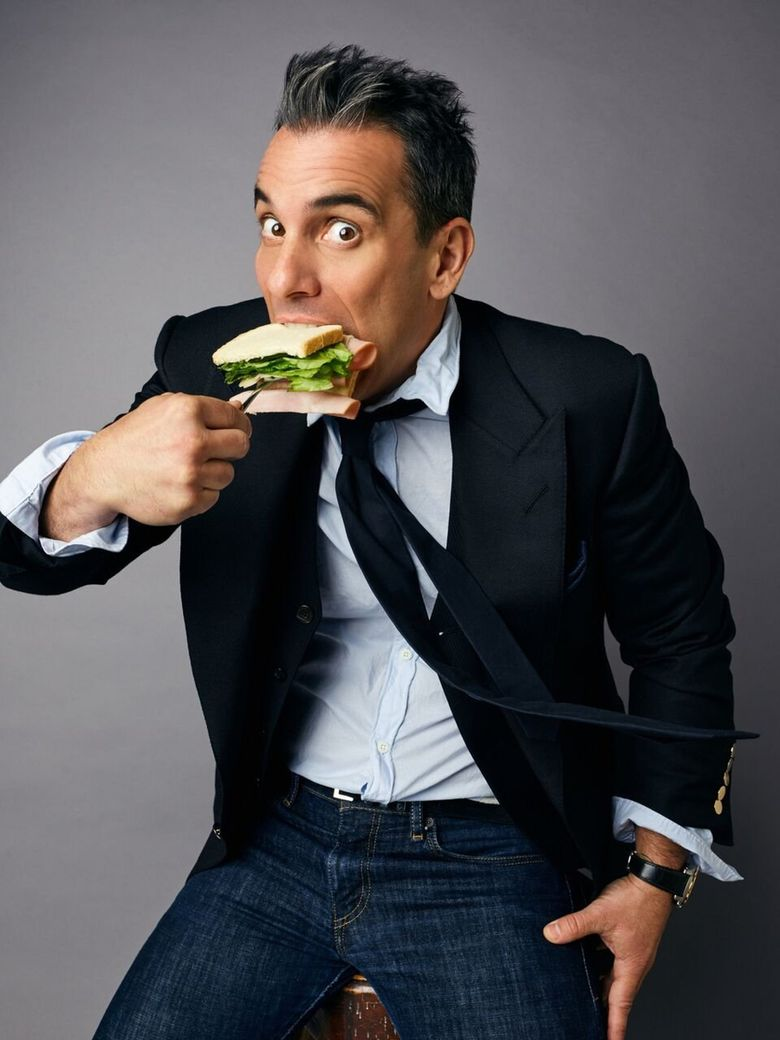 """Comedian Sebastian Maniscalco will bring his """"Stay Hungry"""" tour to Seattle this month.  (Peggy Sirota)"""