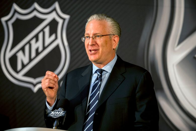 NHL Seattle president and CEO Tod Leiweke confirmed Thursday that the team is continuing to interview GM candidates, among them Columbus Blue Jackets assistant Bill Zito. (Stephen B. Morton / The Associated Press)