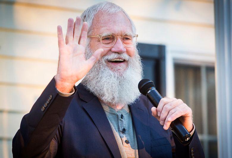 """Former """"Late Night"""" talk-show host David Letterman, seen in September, appears Thursday on Ellen DeGeneres' talk show. (Jordan Kartholl/The Star Press via AP,file)"""