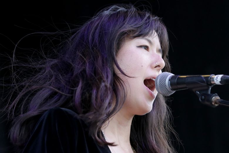 The indie-pop band Tangerine, performing at the Sasquatch! Music Festival in 2016, will be at Chop Suey on Thursday, Feb. 7. (Johnny Andrews / The Seattle Times)