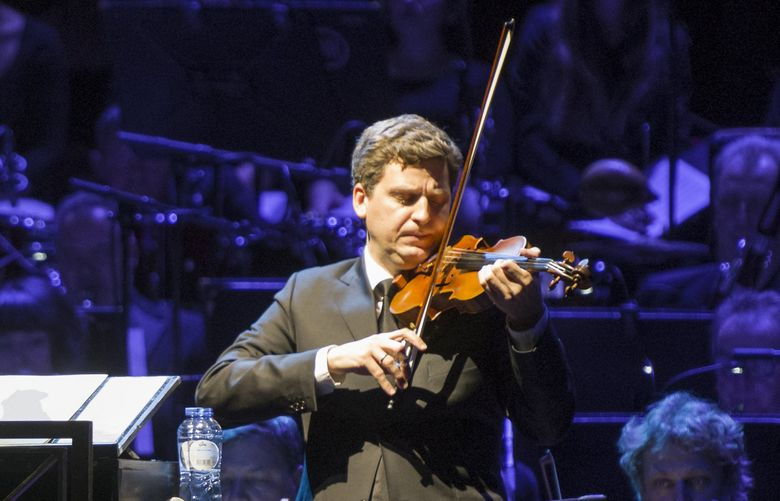 James Ehnes, violinist and Seattle Chamber Music Society artistic director. (Jelmer de Haas)