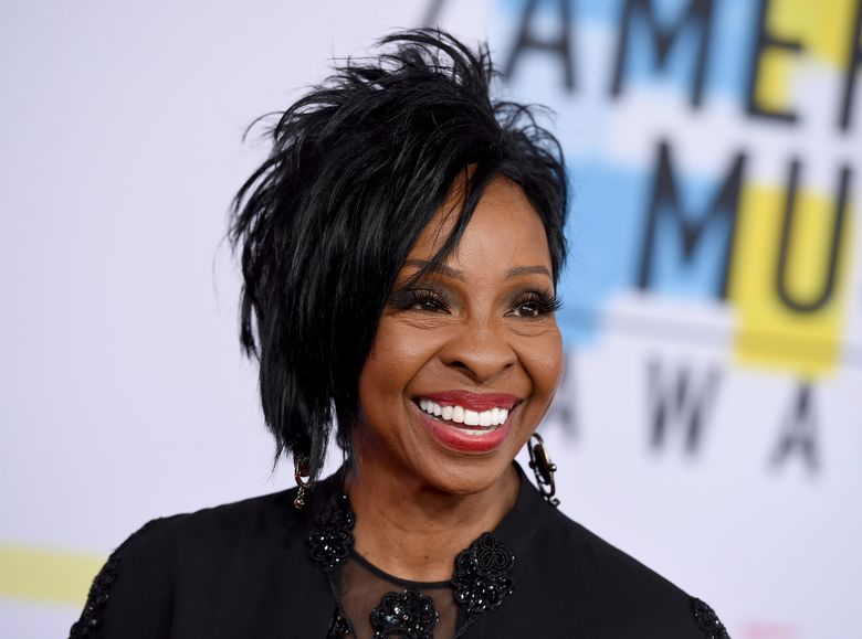 """FILE – In this Oct. 9, 2018 file photo, Gladys Knight arrives at the American Music Awards at the Microsoft Theater in Los Angeles. The seven-time Grammy Award-winner will sing """"The Star-Spangled Banner"""" at this year's Super Bowl, Sunday, Feb. 3, 2019.  Knight says she's proud to use her voice to """"unite and represent our country"""" in her hometown of Atlanta.(Photo by Jordan Strauss/Invision/AP, File)"""