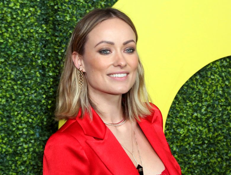 """FILE – In this Dec. 6, 2018 file photo, actress Olivia Wilde arrives at the 2018 GQ's Men of the Year Celebration in Beverly Hills, Calif. Wilde will make her directorial debut in """"Booksmart,"""" at the annual South by Southwest Film Festival. The film is about graduating high-schoolers determined to cram four years of fun into one night. (Photo by Willy Sanjuan/Invision/AP, File)"""
