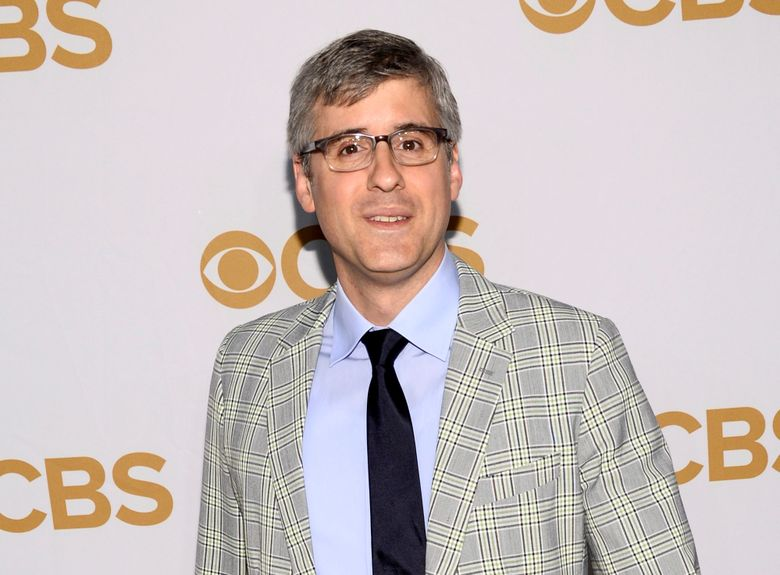 """FILe – In this May 13, 2015 file photo, Mo Rocca attends the CBS Network 2015 Programming Upfront in New York. The CBS News """"Sunday Morning"""" correspondent and humorist has his own spin on obituaries. He has a new podcast and upcoming book called  """"Mobituaries"""" that's an intriguing look at the lives and deaths of not just people, but ideas, careers and social movements. The first of eight weekly episodes premieres on Thursday. (Photo by Evan Agostini/Invision/AP, File)"""